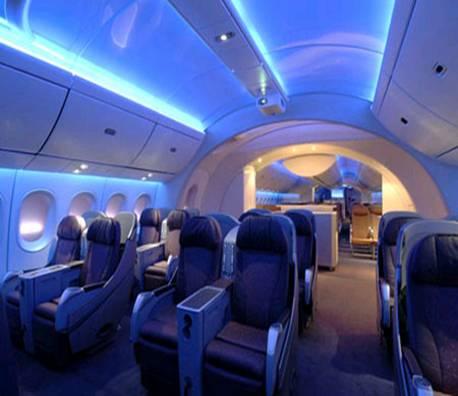 Dreamliner boeing 39 s new creation for Interior 787 dreamliner